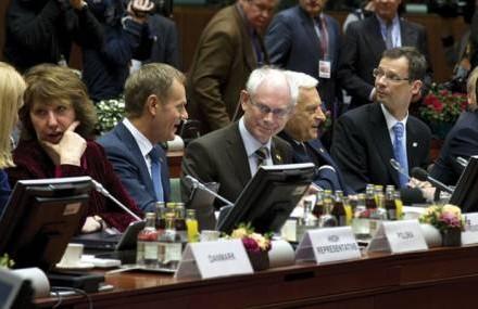 Evropski lideri