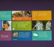 Home screen Windows 8