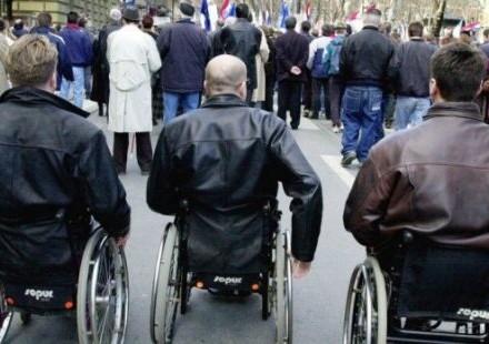 Arhiva: protest ratnih vojnih invalida RS