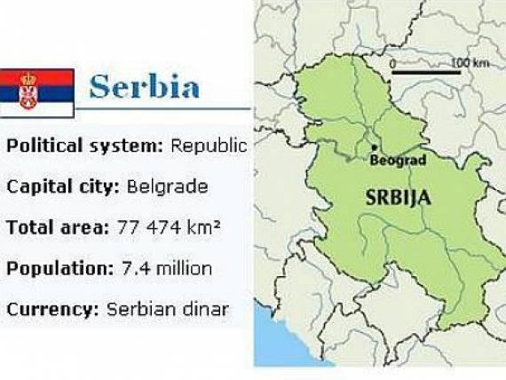 Mapa Srbije Bez Kosova Skinuta Sa Sajta Eu