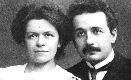 Mileva Marić i Albert Ajnštajn