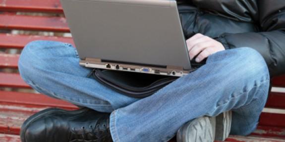 Laptop - krilo