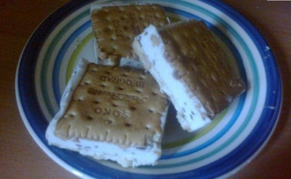sladoled keks