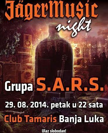 plakat jagermusic night