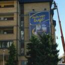 reklama na zgradi