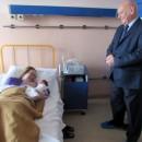 Gavranovic darivao zlatnikom prvorodjenu bebu