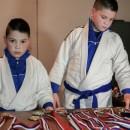 Stefan i Sergej Bunić, braća koja imaju 12 i devet godina, postali su jiu jitsu borci, za koje njihov trener Milan Savičić kaže da su među pet najboljih u svojima kategorijama na Balkanu, ali i u Evropi. ( Aldıjana Hadzıc - Anadolu Ajansı )