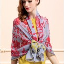 Novels-wear-2016-Women-New-100-mulberry-Silk-Fashionable-Long-Scarf-Wrap-Floral-Print-echarpes-foulards