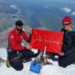 Planinari na vrhu Evrope