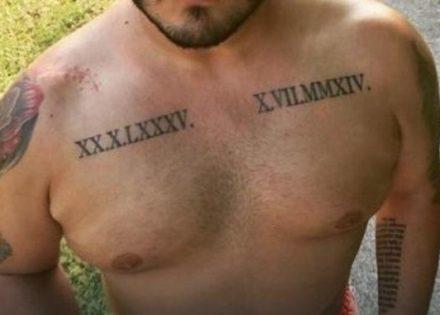Srpskom Pjevaču Se Svi Smiju Zbog Nove Tetovaže Foto