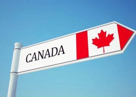 Canada Flag Sign