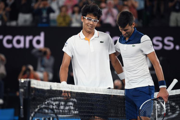Ko je Hjeon Čung, igrač koji je izbacio Novaka Đokovića?