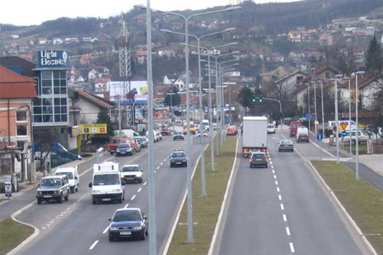 Obustava saobraćaja na putu Krupa na Vrbasu