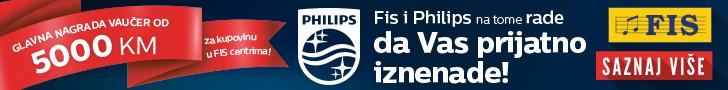 Nagradna igra RS - FIS i Philips na tome rade da vas prijatno iznenade
