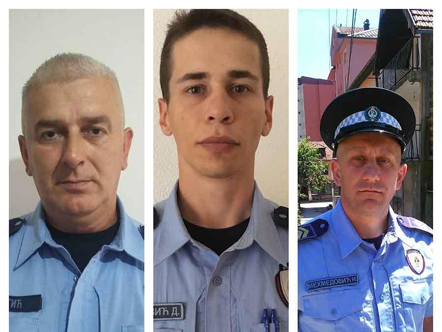 Herojski podvig: Policajci spriječili mladića da se izbode u stanu pred porodicom