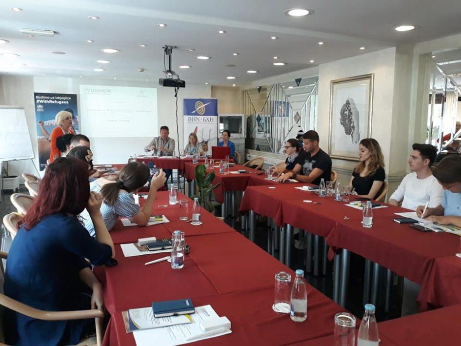 Etički standardi obavezuju novinare na profesionalno i humano izvještavanje o izbjeglicama i migrantima u BiH