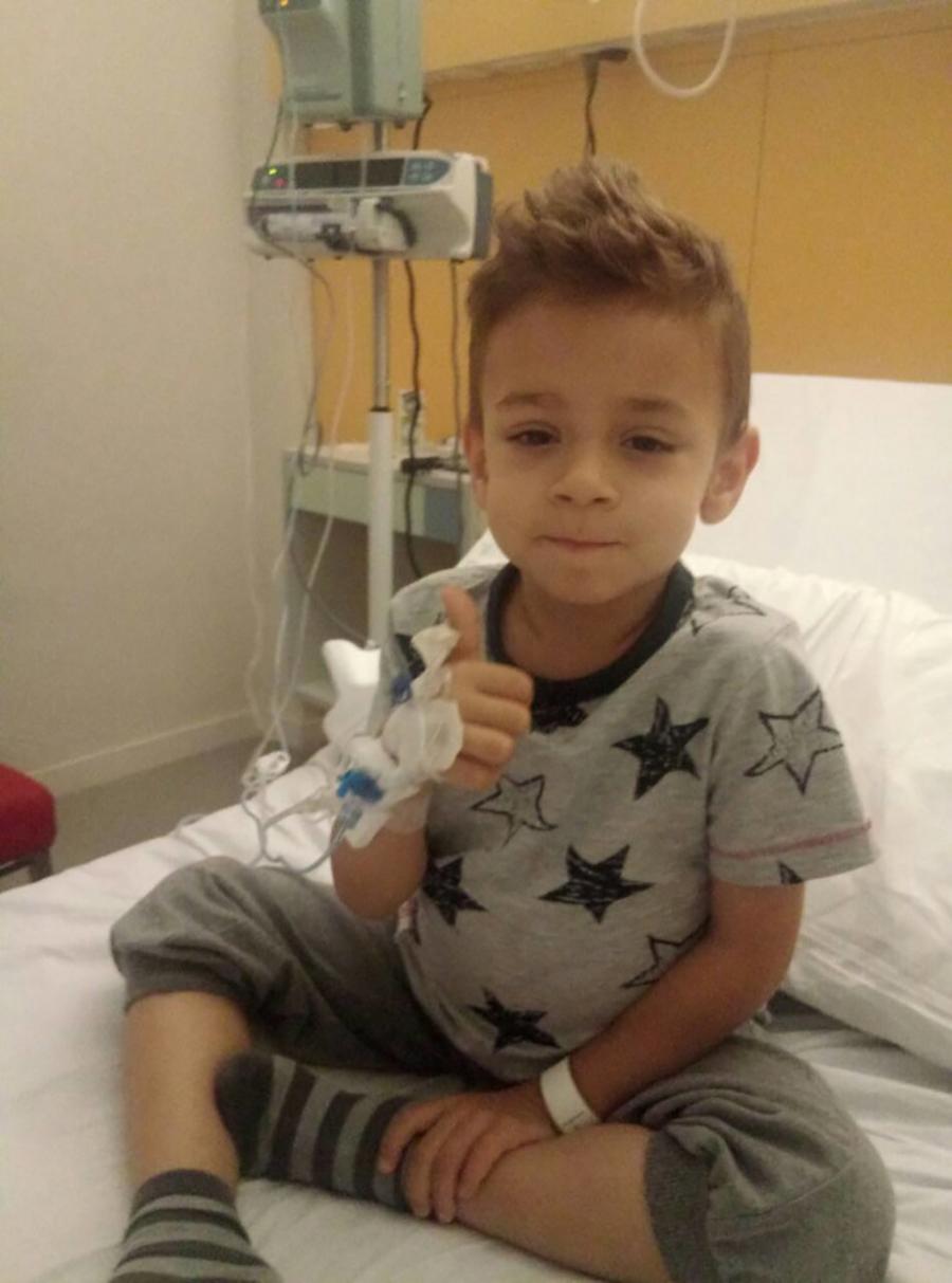 Otac malog Dukija otkrio ko je donator 70.000 evra za liječenje u Barseloni