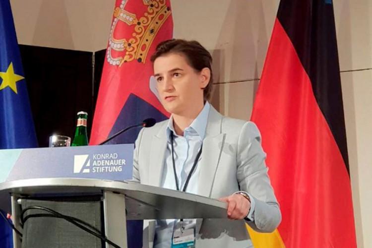 Ana Brnabić sutra na inauguraciji Željke Cvijanović