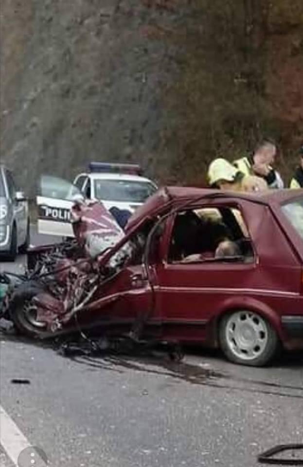 Dvije osobe životno ugrožene nakon povreda u jučerašnjoj nesreći kod Sarajeva