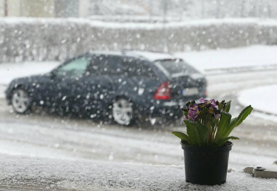 Danas hladno uz slab snijeg, u Banjaluci jedan stepen
