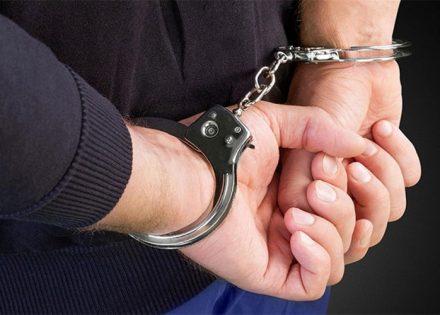 uhapšen