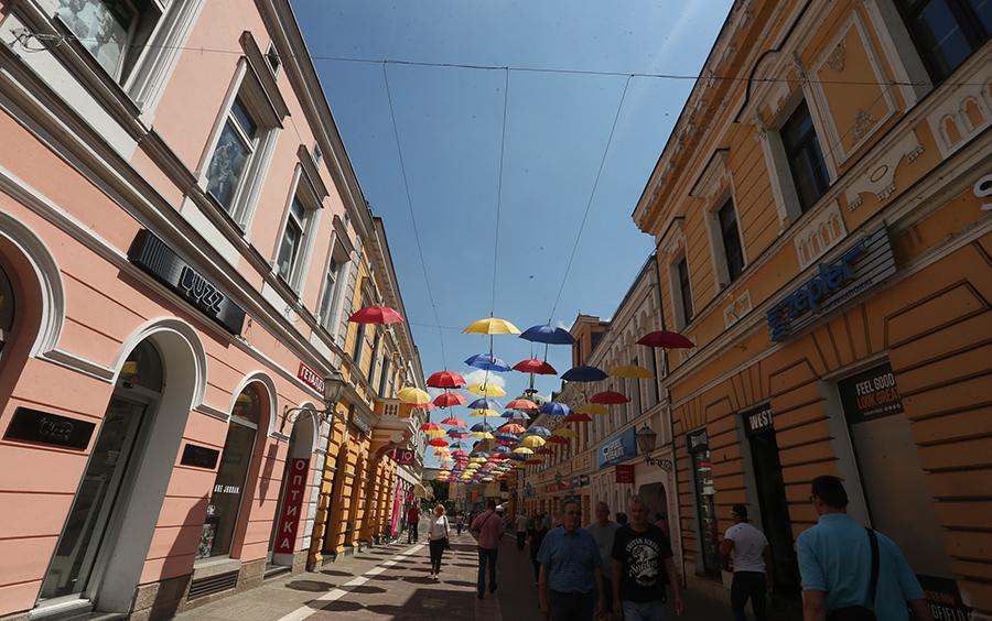 Dan grada: Umjesto kišobrana, iznad Gospodske pozitivne poruke