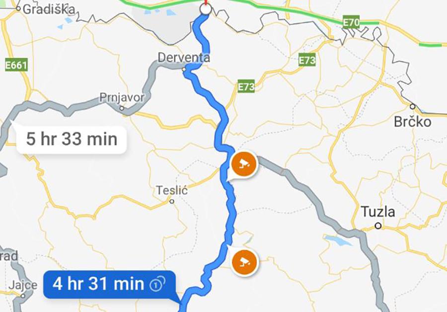 Karta Srbije Google Superjoden