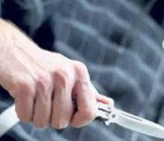 nožem
