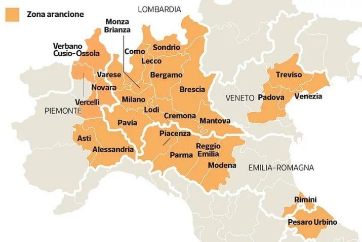 Mapa Italija Televizija Kopernikus Tv K Cn